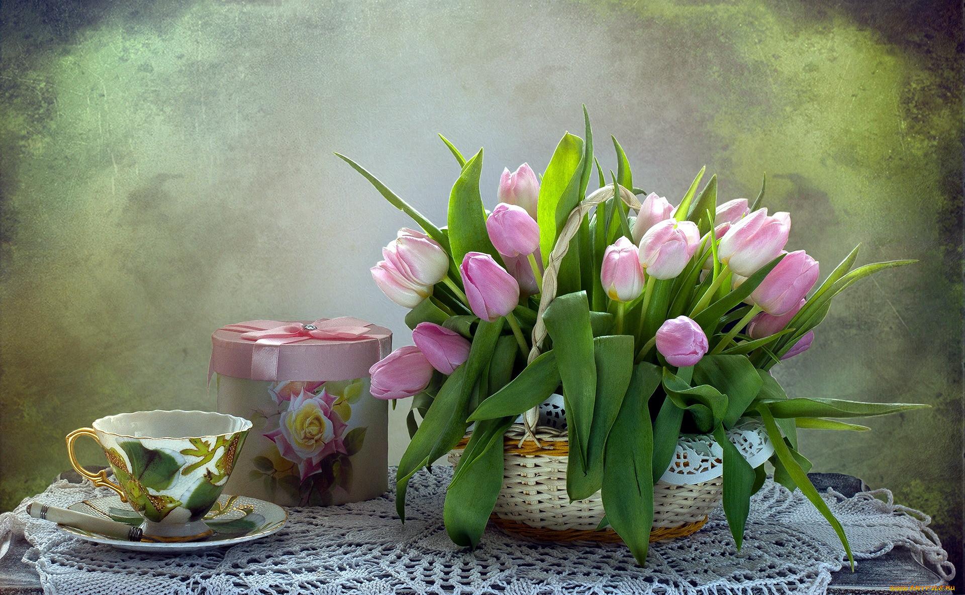 фото доброе утро с тюльпанами кралья, перевернуть руль